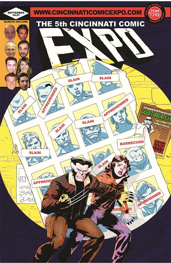 Posters Cincinnati Comic Expo