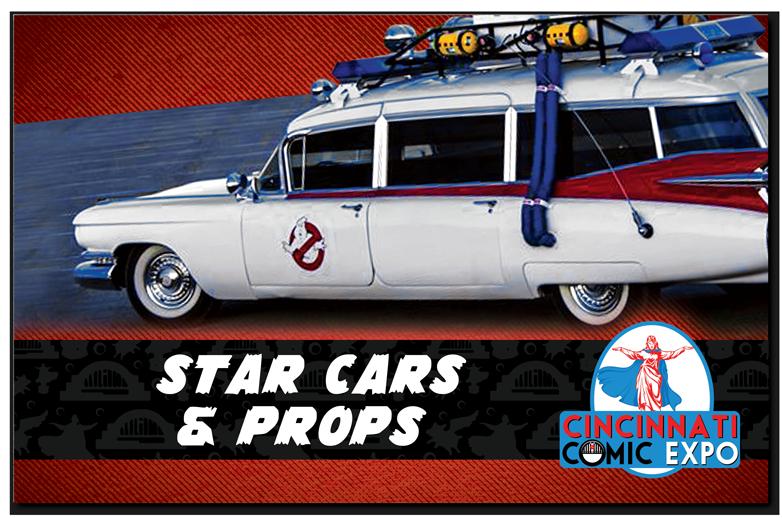 Star Cars And Props Cincinnati Comic Expo - Car show display props